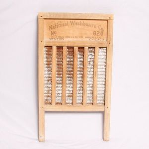 Other - Antique Washboard Rustic Wood Farmhouse Decor